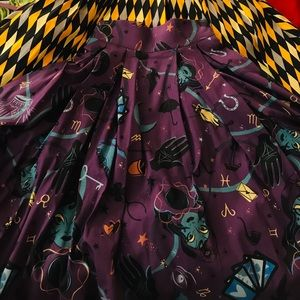Pinup Couture Skirts - Pinup girl fortune teller long jun